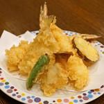 玄蕎麦 野中 - 天ぷら盛合せ