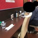 中国料理 龍亭 - お一人様のカウンターもあります