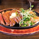 鉄板食堂 バルコ - 料理写真:リブステーキ(150g)