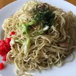 西村麺業 - 焼きそば 350円 大盛り +50円