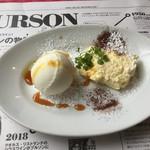 イル・パチョッコーネ・ディ・キャンティ - ランチコース3200円 デザート