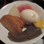 くつろぎ食堂Ami - おばんざい:おでん