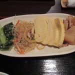 くつろぎ食堂Ami - おばんざい:玉子焼き他