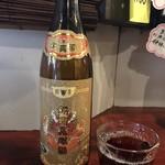 98865455 - 紹興酒ボトル投入〜