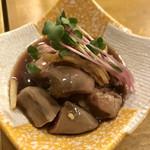 日本酒とお万菜 じゃんけんポン - 鶏肝煮