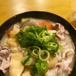 日本酒とお万菜 じゃんけんポン - 粕汁