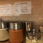 吉み乃製麺所 - 味変部隊