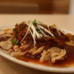 中華食堂一番館 - 四川風ヨダレ鶏アップ