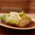 中華食堂一番館 - 中華風白菜のうま煮アップ