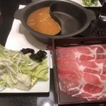 しゃぶしゃぶ美山 - 牛肉&豚肉セット