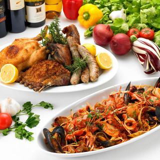 本場イタリア料理を日本に広めたお店。老舗の味をお楽しみ下さい