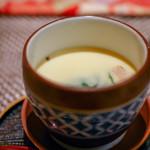 98870413 - 牡蠣とベーコンの茶碗蒸し