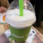 SNOWY VILLAGE - クリームチーズタピオカミルクティー