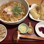うどん日和ひこどん - ひこどんセット 780円