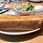 カフェ・ラシュール - アメリカン¥420でAセットのトースト