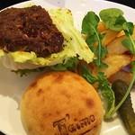 J'aime - 和牛のハンバーガー1280円