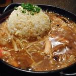 西安餃子 - フカヒレ炒飯