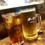 柳屋ホルモン焼 - ★ホッピーと烏龍茶★