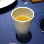 レストラン ローブ - 鴨の出汁