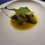 レストラン ローブ - 鎌倉の冬蕪 鴨