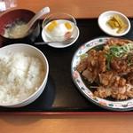 栄盛 - 油淋鶏定食