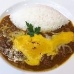98876746 - 「炙りチーズの牛煮込み欧風カレー」(864円)