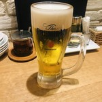 恵比寿餃子 大豊記 - 生ビール