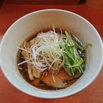 らうめん梵 - 料理写真:煮干しラーメン750円