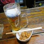 だるま - 生ビールです