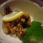 喜庵 - ☆鶏わさもピリリと美味しゅうございます(^◇^)☆