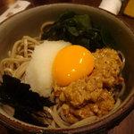 喜庵 - ☆納豆蕎麦(*^。^*)☆