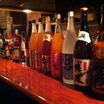 いずみ - バータイムにはお酒も各種取り揃えております。