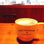 カフェ サルバドル ビジネス サロン - 抹茶ラテ