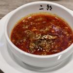 焼肉・冷麺 二郎 - ユッケジャンスープ(福岡仕込み)