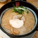リューズヌードルバー - リューズヌードルバー@新横浜ラーメン博物館 RYUS鶏白湯ラーメン