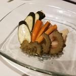 98886641 - いろいろ野菜の自家製ピクルス