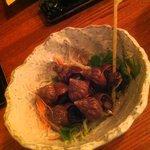 クインメリー - つぶ貝煮 300円