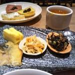 ガーデン キッチン - 和食を選ぶとこのプレート