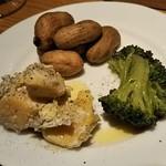 炭焼&wine 9 - 前菜3種盛り