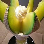 プリンス オブ ザ フルーツ - 静岡クラウンメロンパフェ