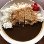 エール カフェ - カツカレー ¥734