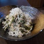 三代目茂 - 小松菜と明太子