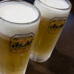 三代目茂 - とりあえず、ビール