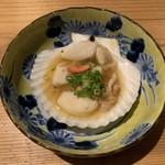 活貝 日本酒 おばんざい 福島おちび - 帆立の醤油バター