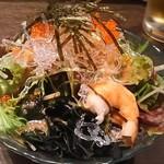 寿司の磯松 - 海鮮サラダ