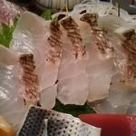 寿司の磯松 - 刺身・鯛
