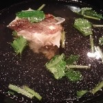 寿司の磯松 - 鯛の潮汁