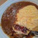 CHOTA - 料理写真:オムチキンカレーの十穀米