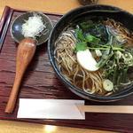 かわせみ - 料理写真:山菜そば(大盛り)