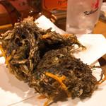 久茂地文庫 - もずくの天ぷら